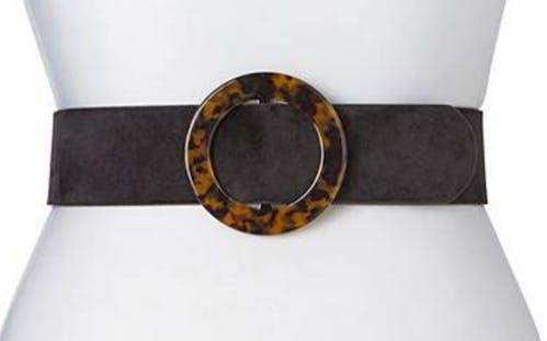Tortoiseshell Detail Waist Belt
