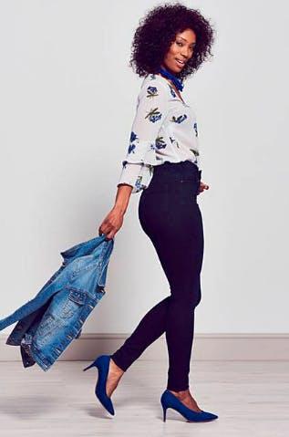 Indigo Lucy High Waist Skinny Jeans