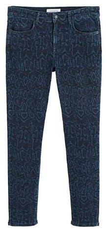 Violeta By Mango Snake Print Jeans