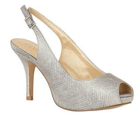 Lotus Adora Stiletto Peep Toe Shoes