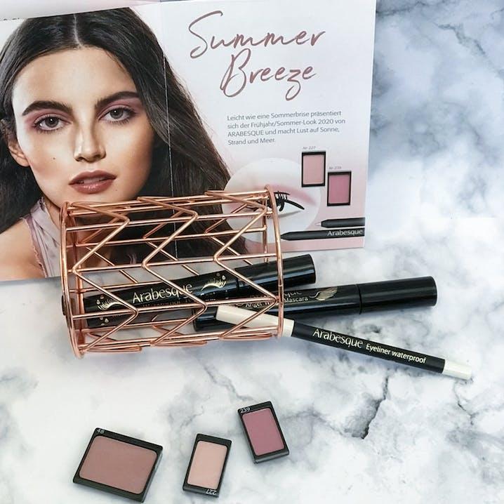 Make-up Trend Frühling: Summer Breeze von ARABESQUE