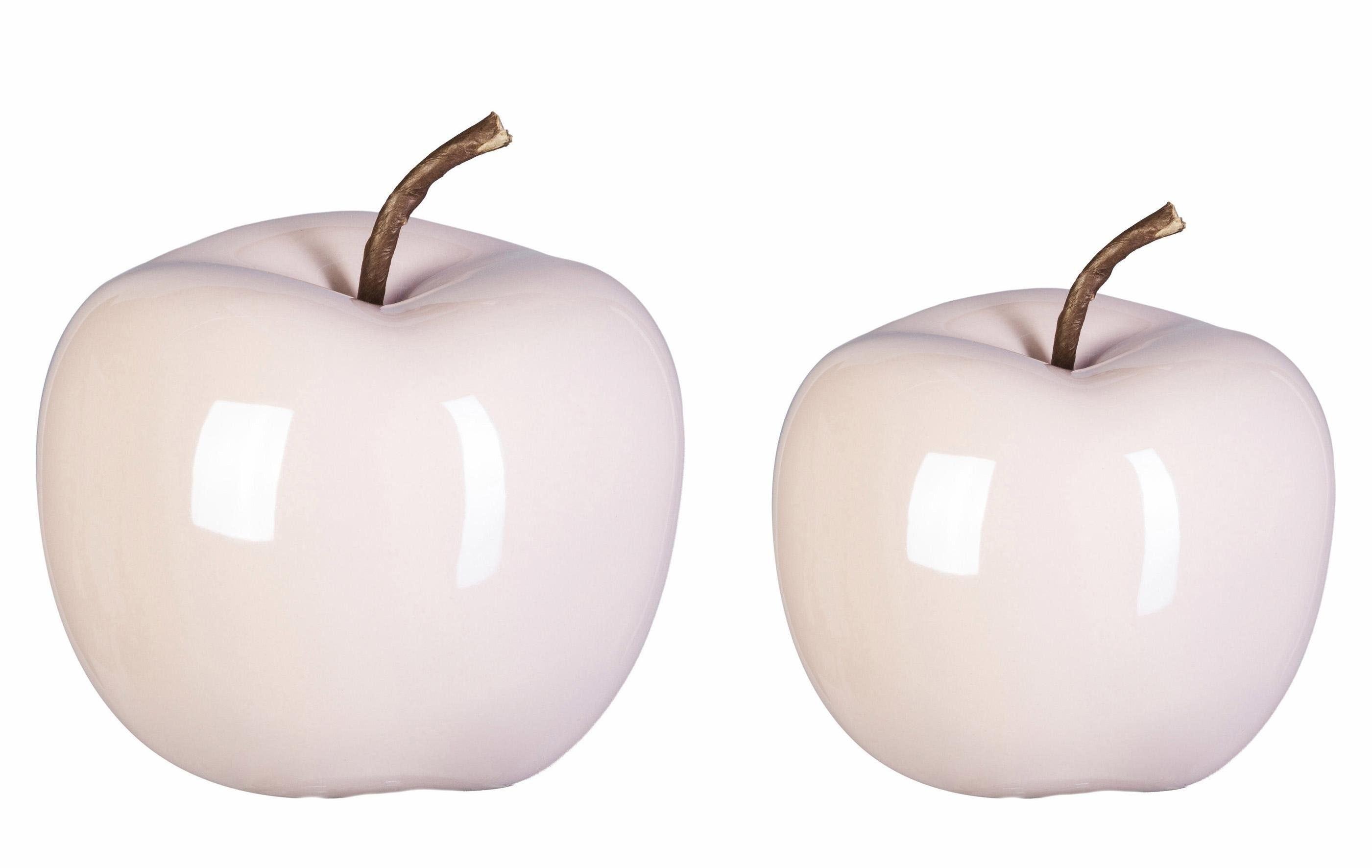 Keramik Deko Apfel