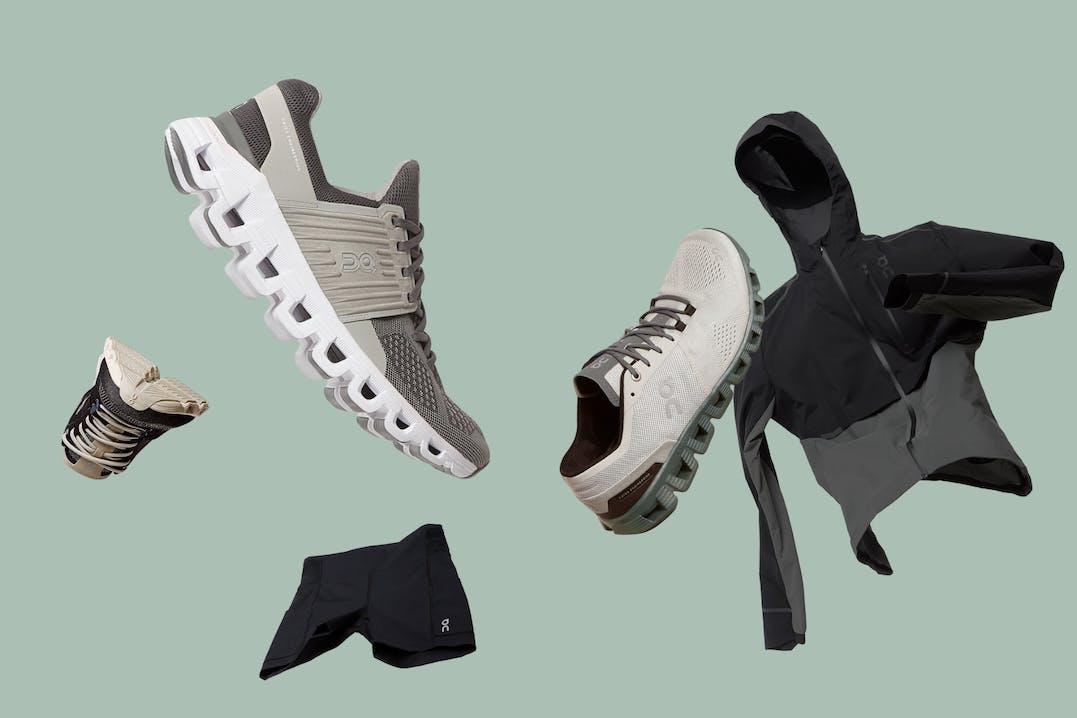 Schuhe und Bekleidung von On Running