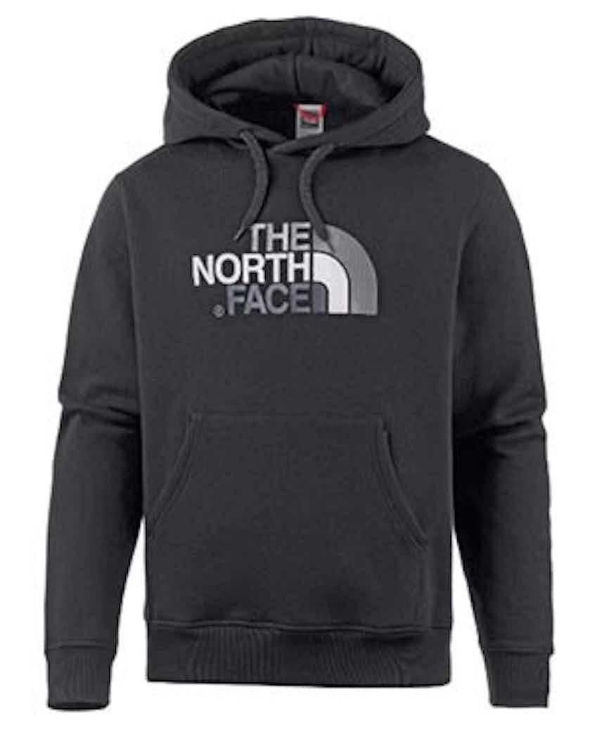 The North Face Hoodie schwarz