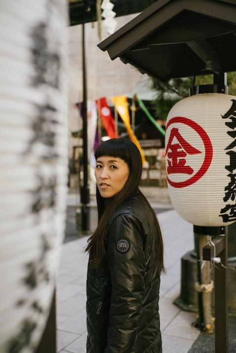 Canada Goose / Kalligraphin Aoi Yamaguchi