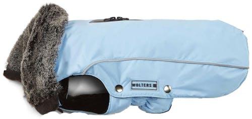 Wolters - Hundebekleidung - Winterjacke Amundsen für Mops & Co sky blue