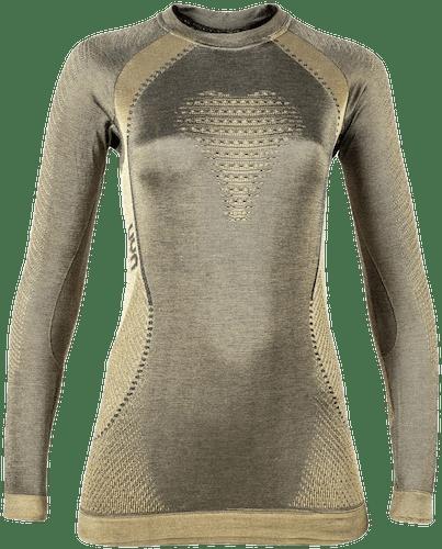 UYN Cashmere Shiny maglia tecnica donna