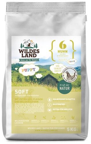 Wildes Land Soft Puppy Huhn mit Reis