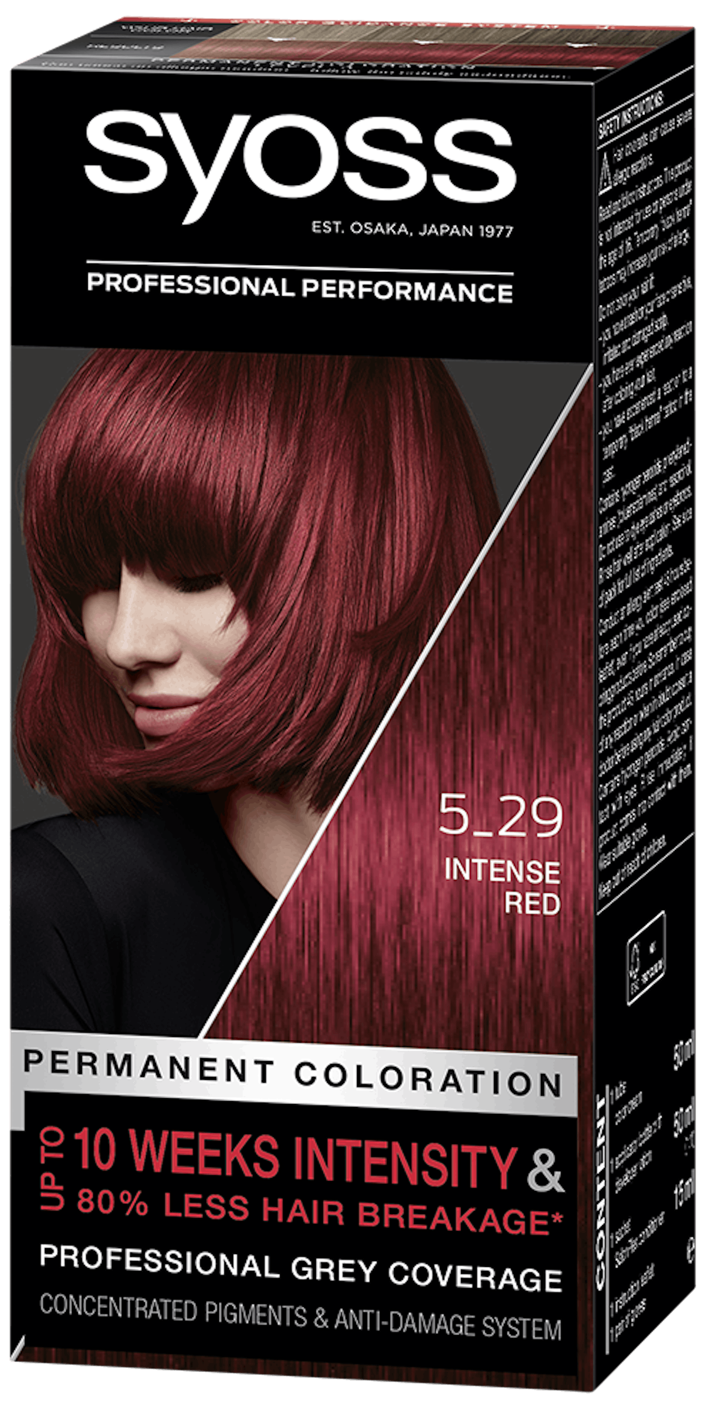 Syoss Permanent Coloration 5_29 Intense Red