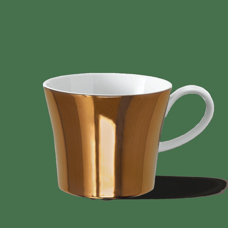 BERLIN coffee mug ZEHLENDORF, Luster color COPPER
