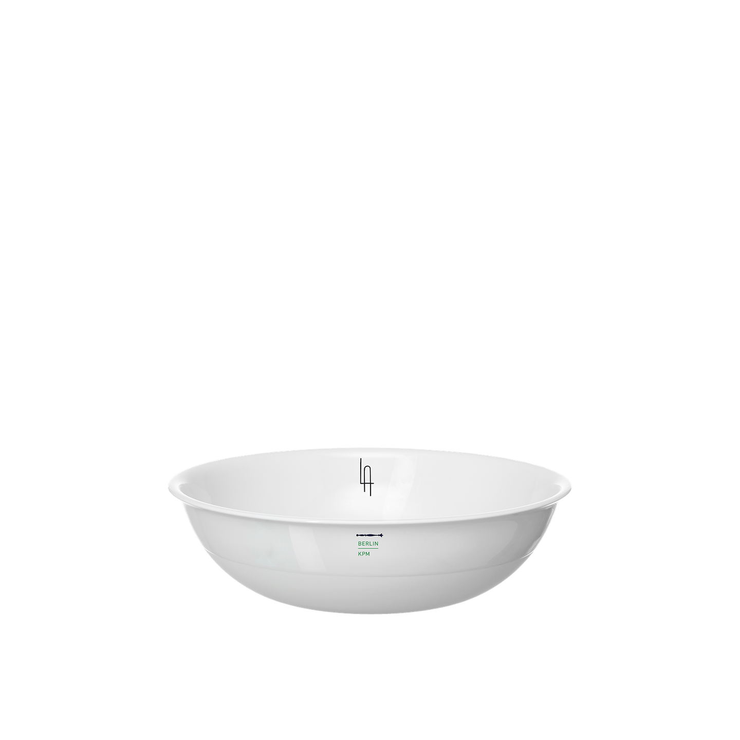 LAB cereal bowl with monogram