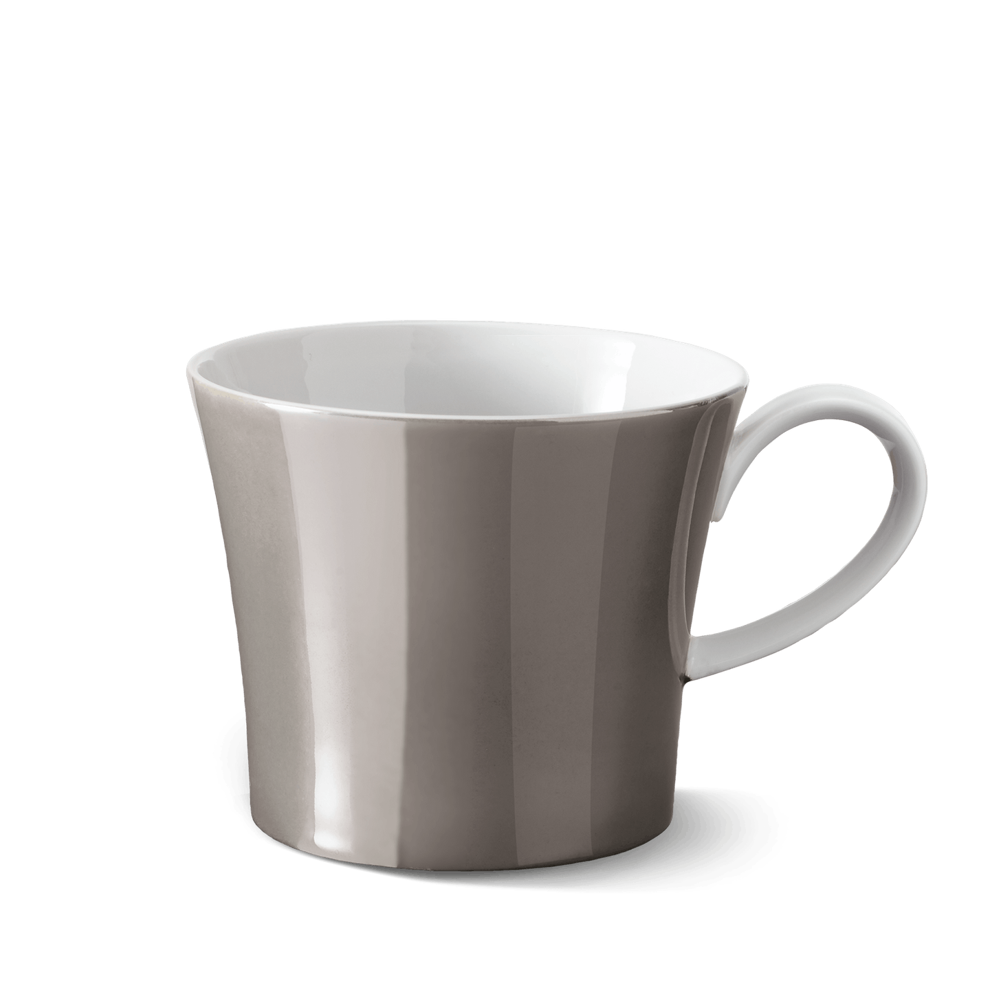 BERLIN coffee mug MITTE, Luster color ANTHRACITE