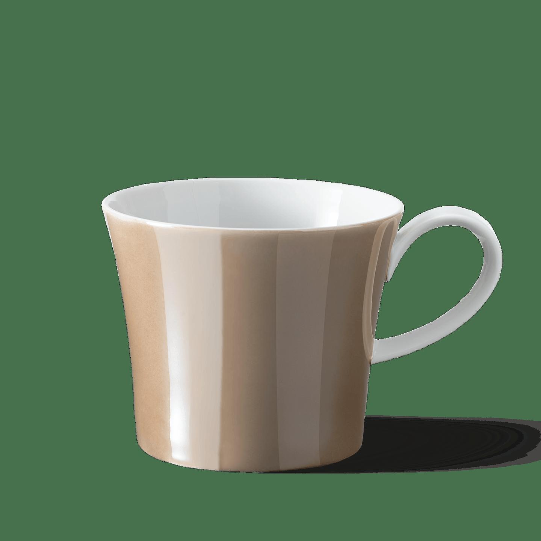 BERLIN coffee mug WANNSEE, Luster color SAND