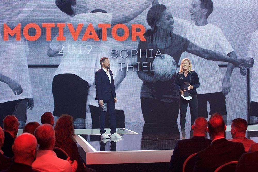 Sophia Thiel gewinnt Made for More Award