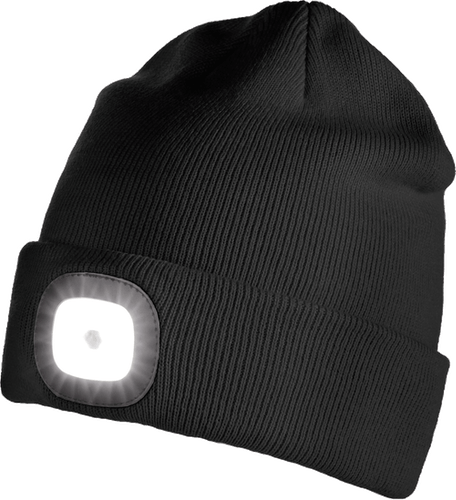 Iceport LED Beanie Lighty - Black