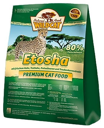 Wildcat - Trockenfutter - Etosha mit Geflügel (getreidefrei)