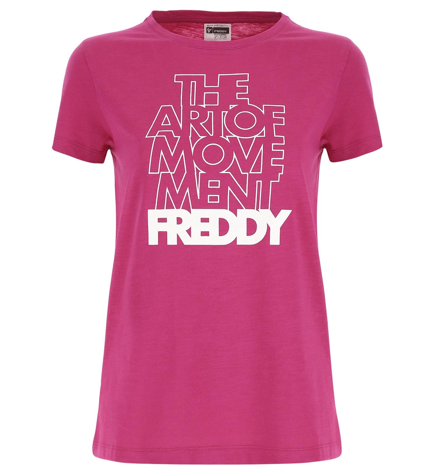 Freddy The Art of Movement Shirt - T-shirt fitness - donna