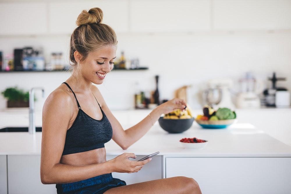 App zum Kalorien tracken