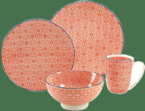 CreaTable Geschirr-Serie Steinzeug »Mediterran«