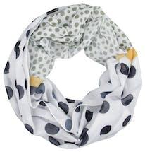 Punkte Loop-Schal