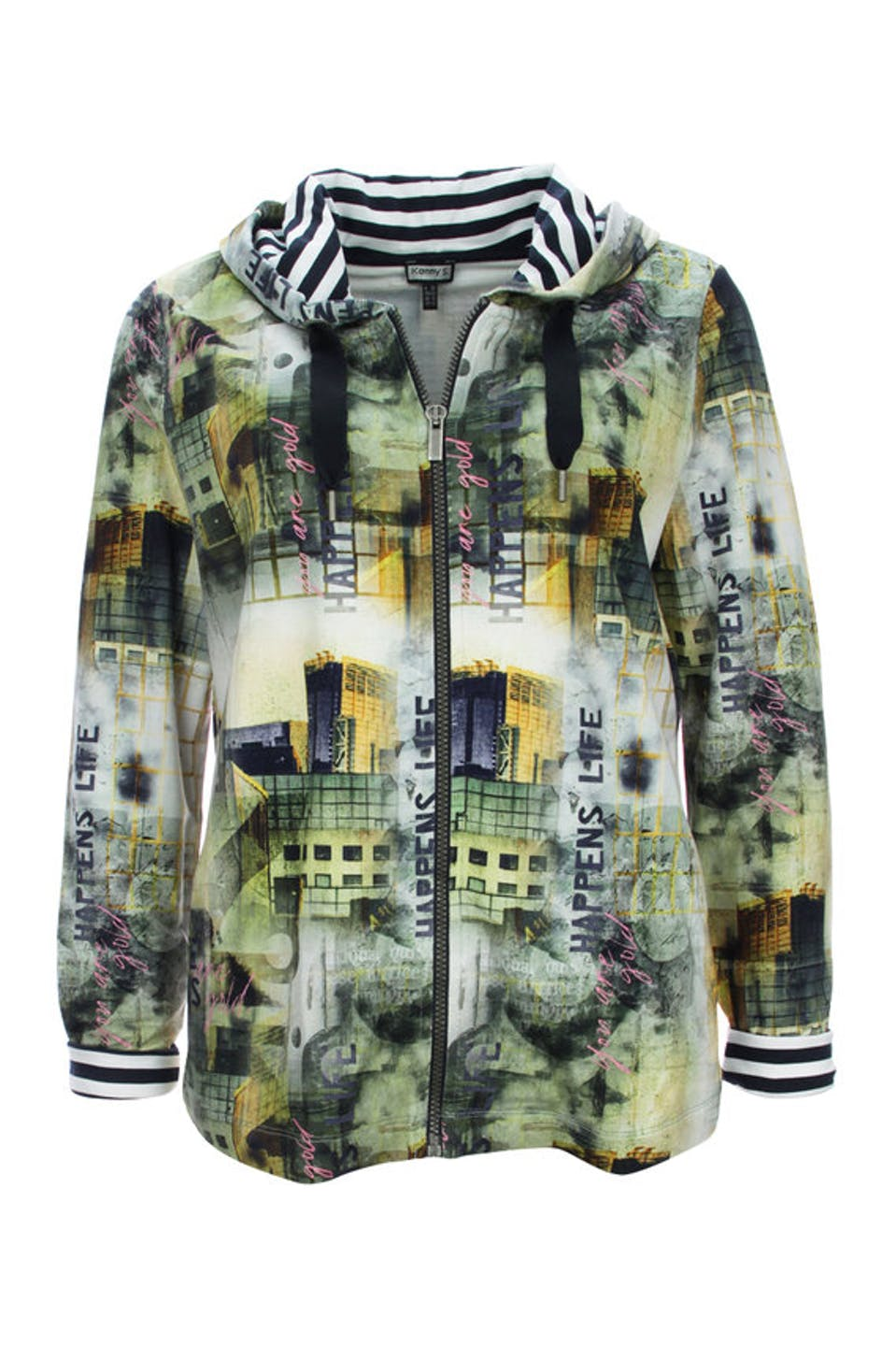 Alloverprint Jacke