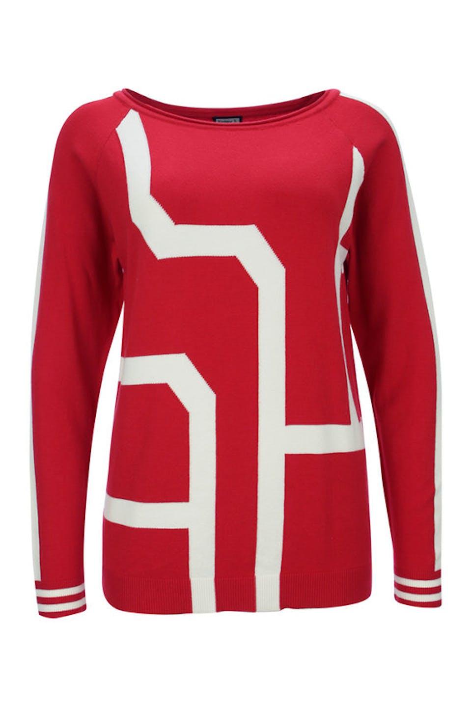 Intarsien Pullover