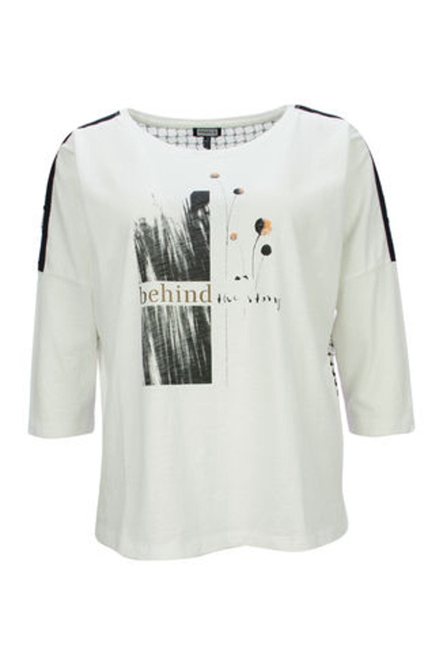 3/4 Arm Shirt mit Motiv