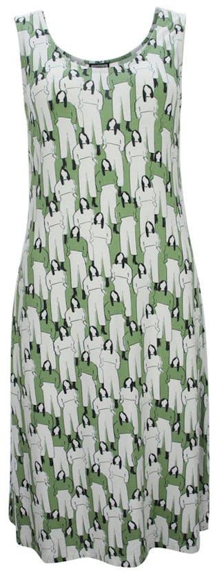 Frauenprint Kleid