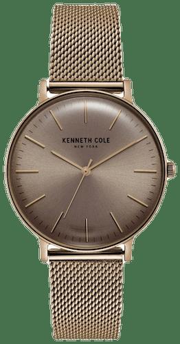 Cette montre KENNETH COLE se compose d'un Boîtier Rond de 38 mm et d'un bracelet en Acier Rose