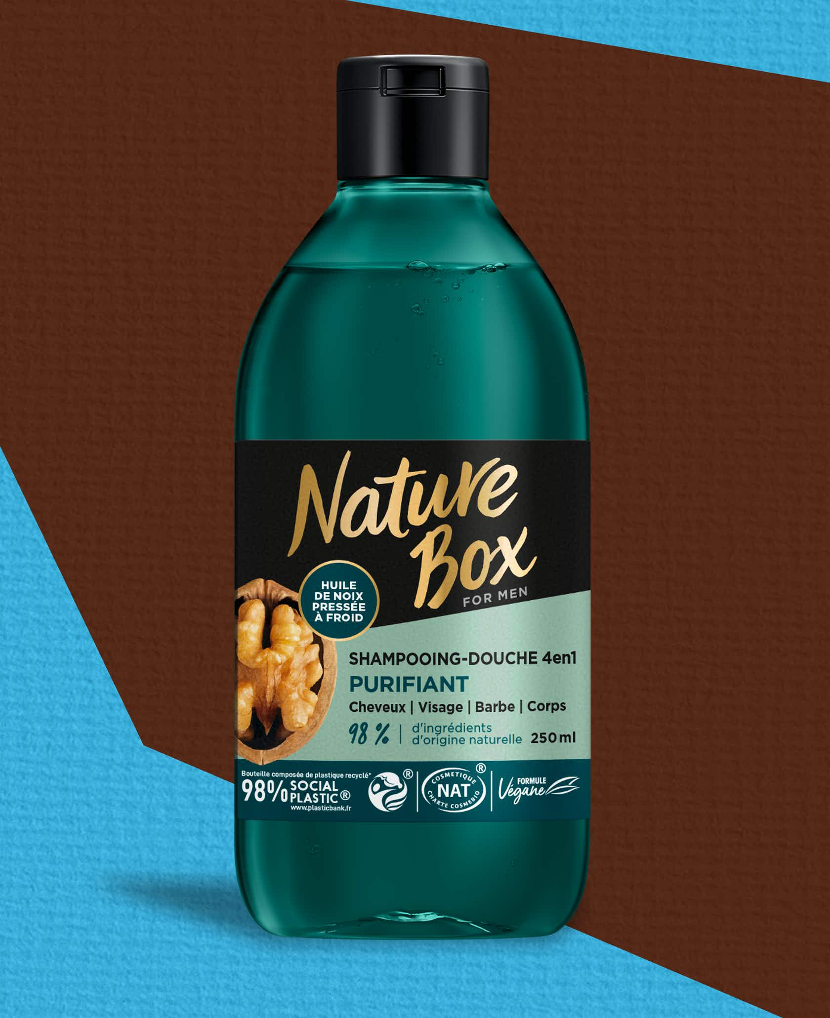 Shampooing-Douche 4 en 1 Purifiant