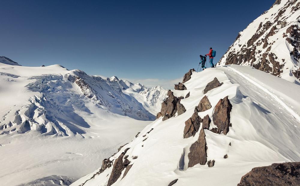 Klettergurt Skitouren : Welcher skitouren rucksack ist der richtige