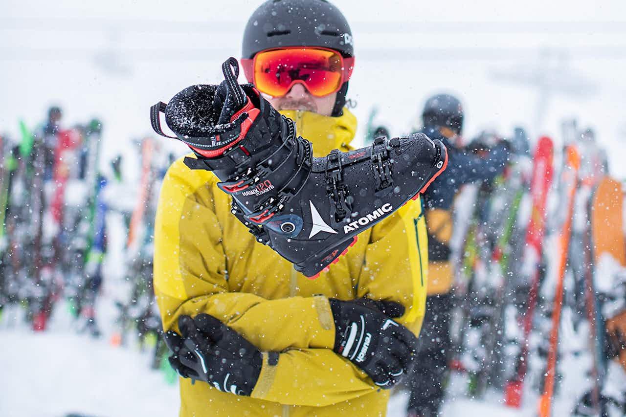 Den richtigen Skischuh finden