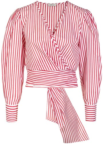 Gold Case, red Bluse, Stripes, Lodenfrey, Munich