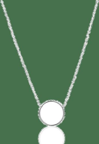 Collier Argent 925/1000 Rond Gris