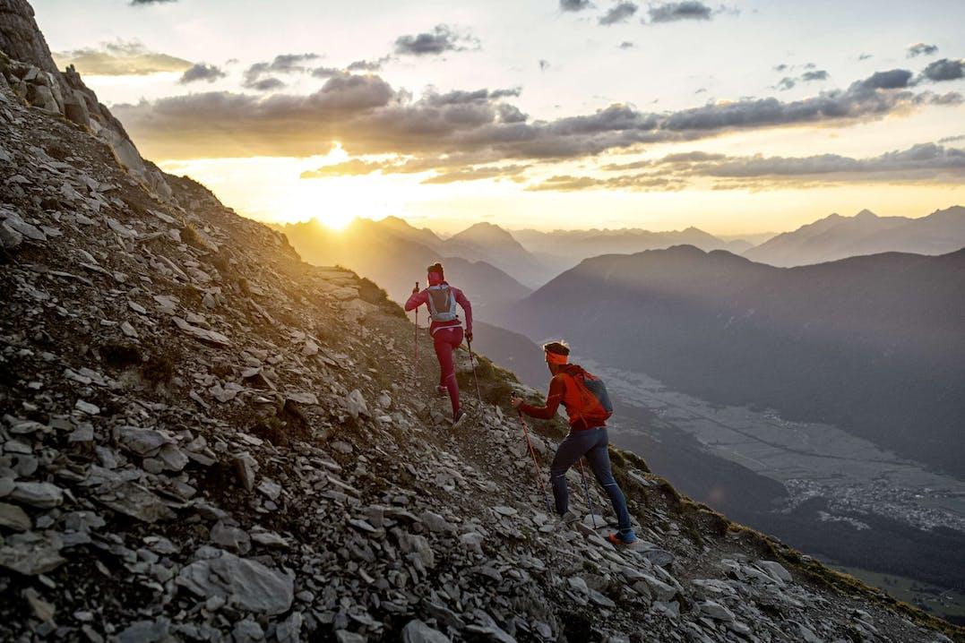Atleti Trail Running Dynafit in azione.