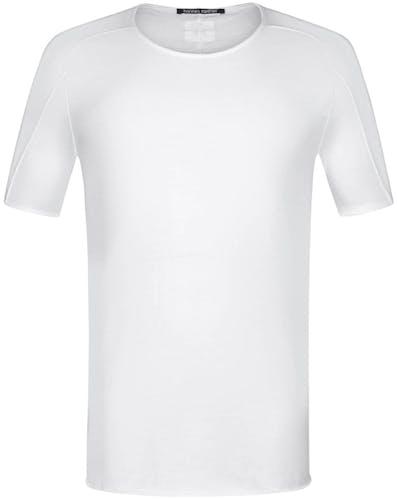 T-Shirt, Shirt, Hannes Roether, weiß, white, Lodenfrey, Menswear, Herren