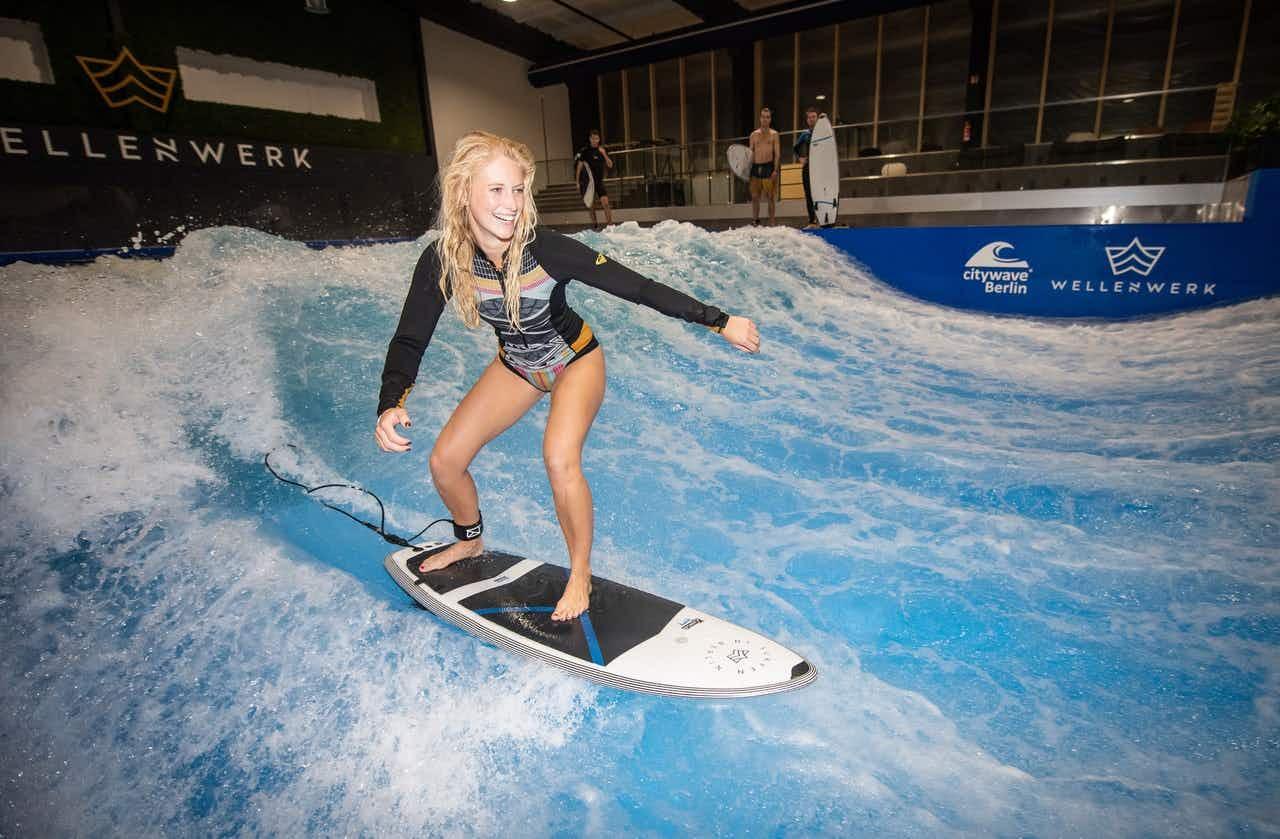Surfen auf stehender Welle
