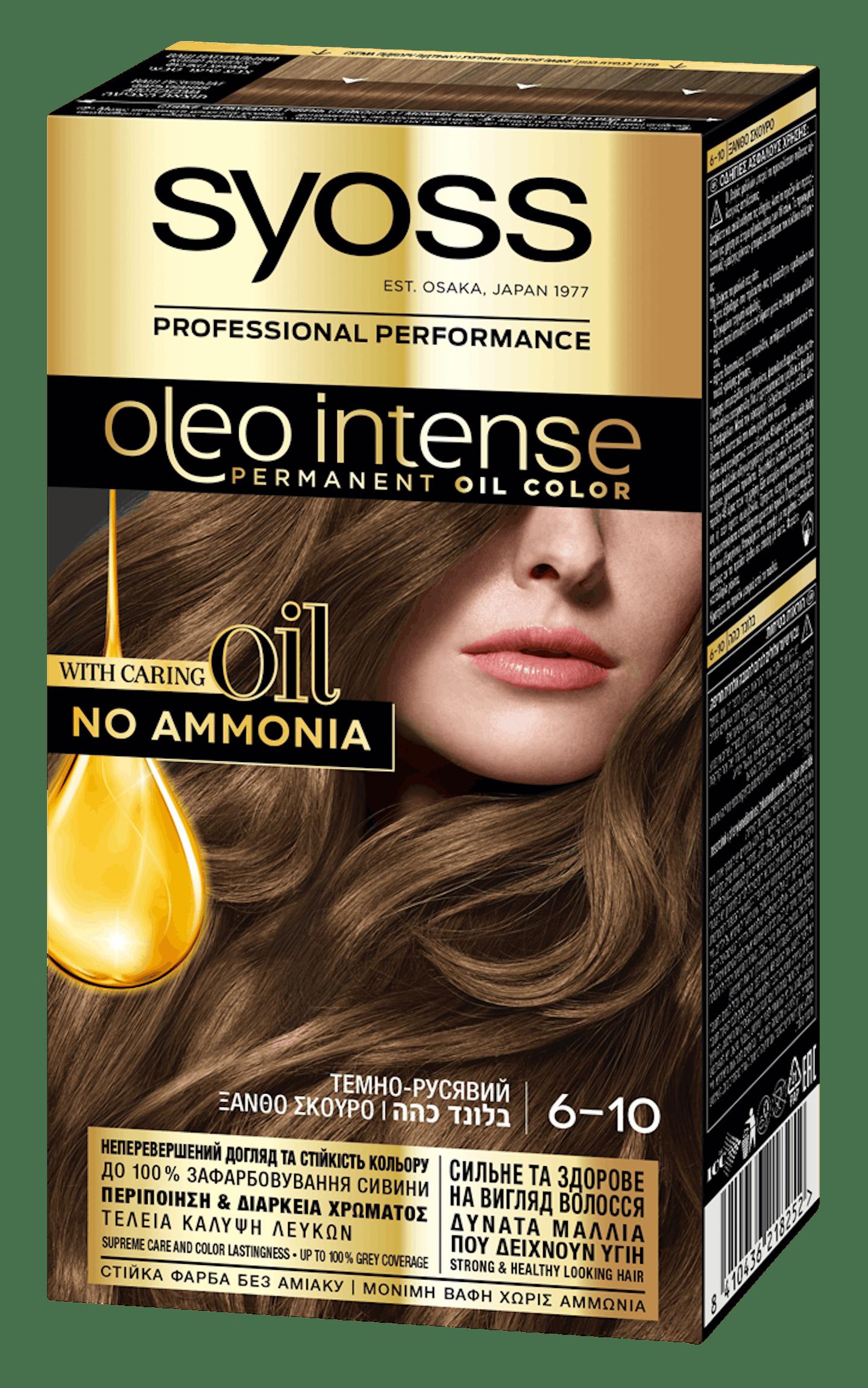 Syoss Oleo Intense Темно-русявий 6-10