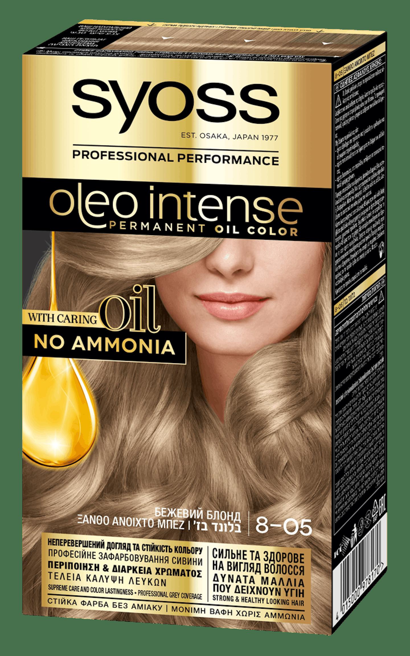 Syoss Oleo Intense Бежевий Блонд 8-05
