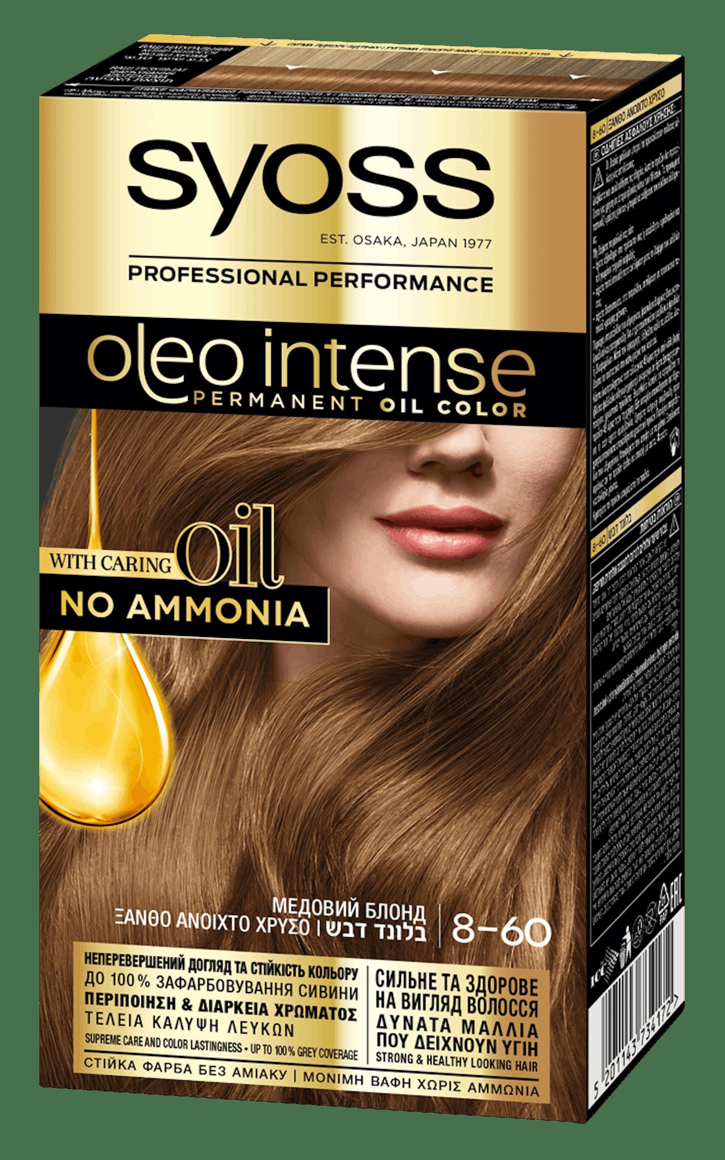 Syoss Oleo Intense Медовий Блонд 8-60