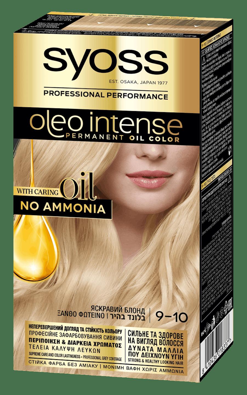 Syoss Oleo Intense Яскравий Блонд 9-10  shot pack