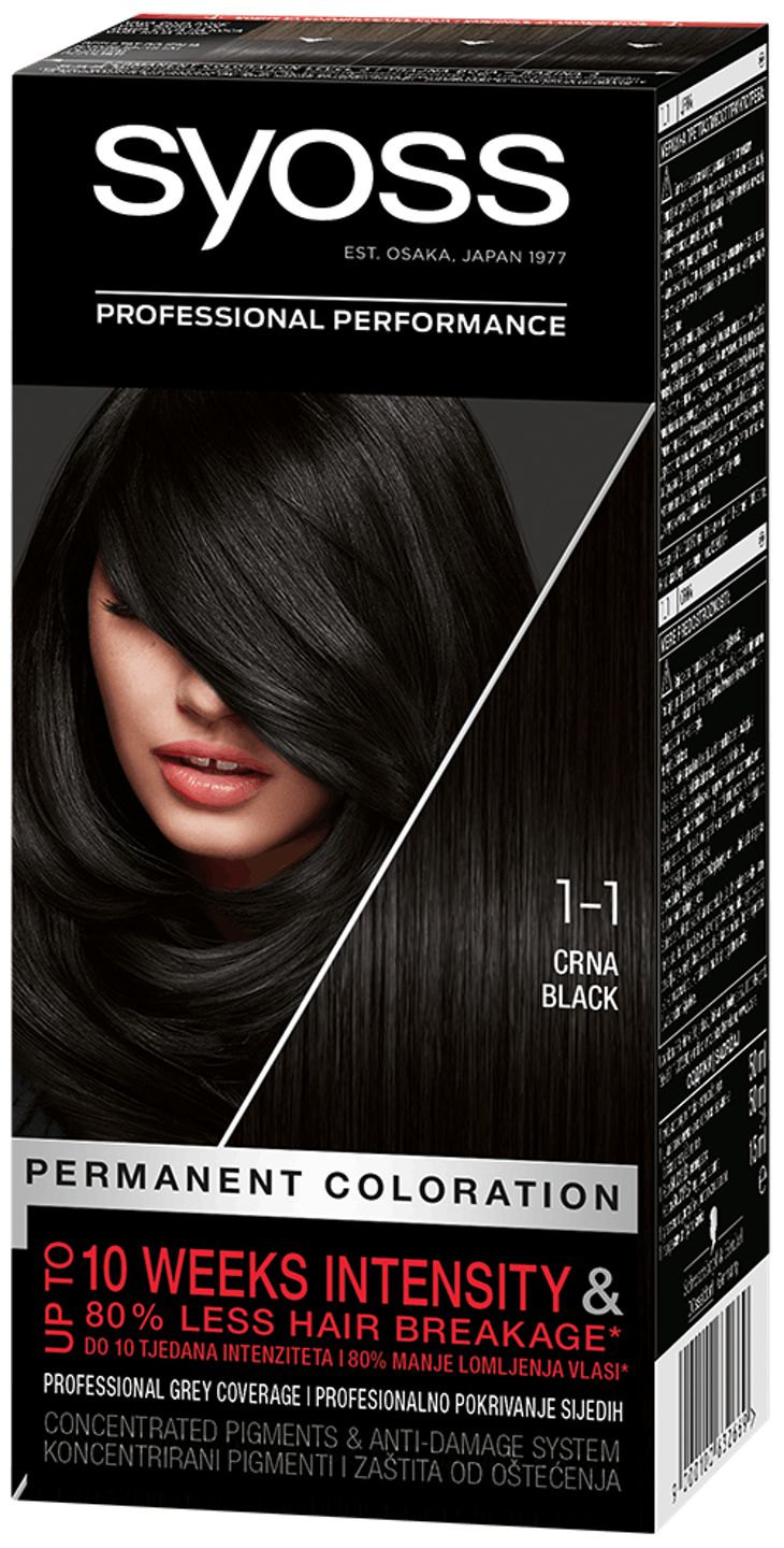 Syoss Permanent Coloration Black 1_1 Live Preview shot pack