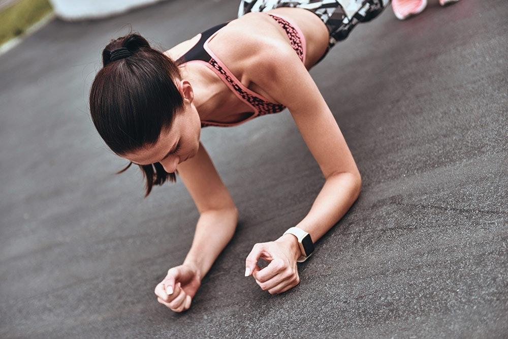 Übungen gegen Runner's Knee