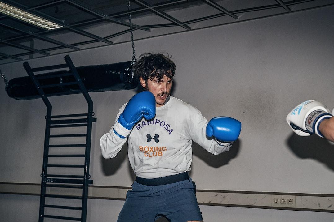 Tim Yilmaz Boxtraining