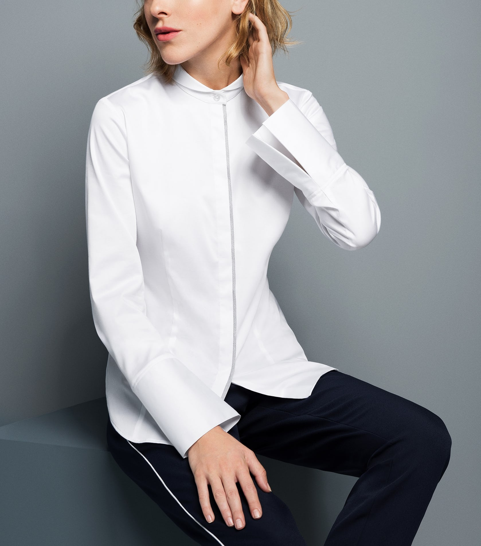 ff8b74fd6f056c Die weiße Bluse ist Ihr