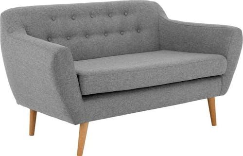 andas 2-Sitzer »Renne«, mit Heftung im Rücken im skandinavischem Stil