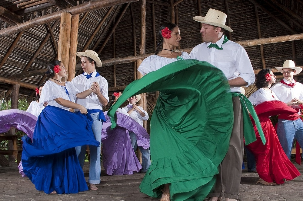 Traditioneller Tanz in Costa Rica