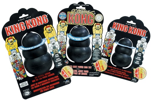 Kong - Hundespielzeug - Extreme Schwarz