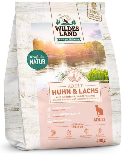 Wildes Land - Trockenfutter - Huhn und Lachs (getreidefrei)