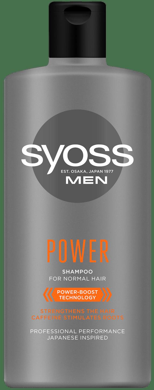Syoss Men Power Шампоан pack shot